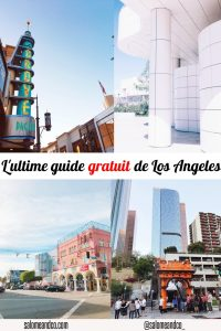 l'ultime guide gratuit de Los Angeles