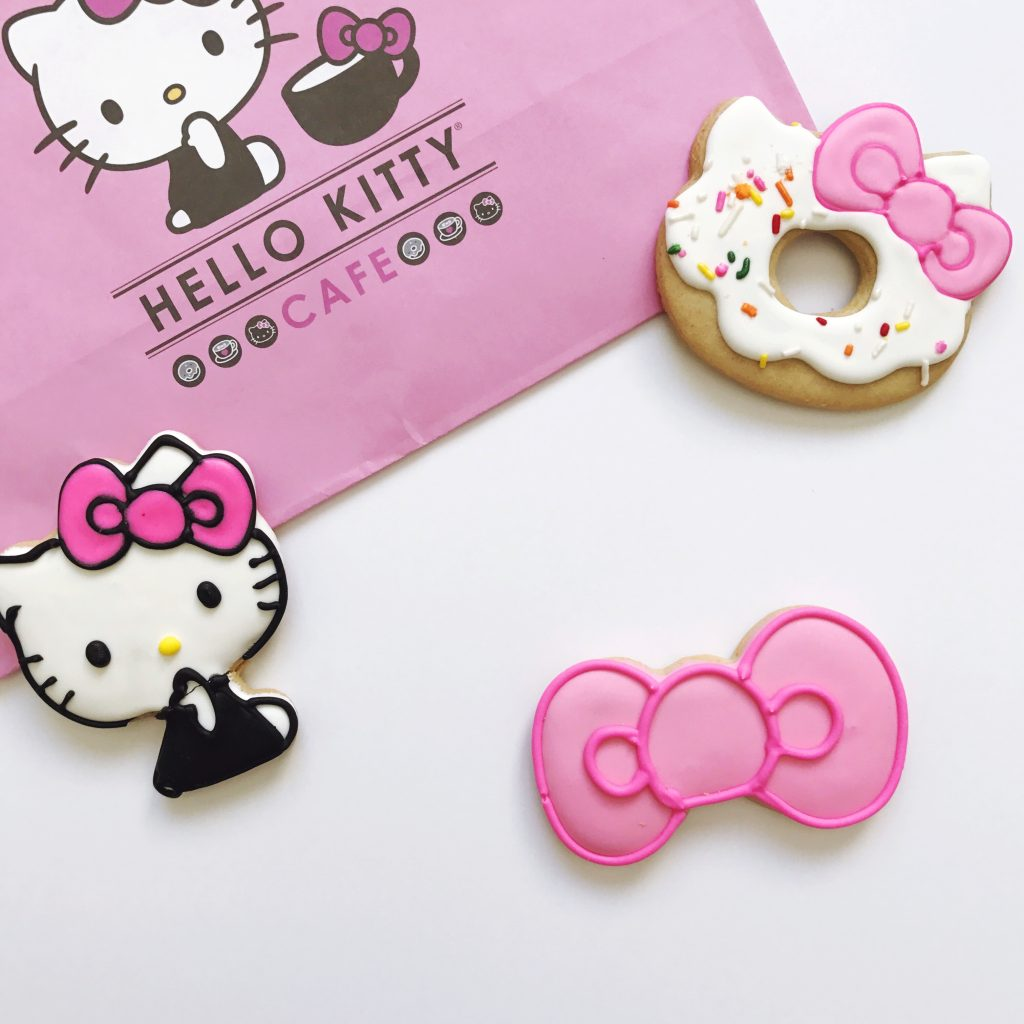 Cookies hello kitty Cafe