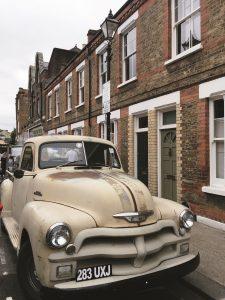 old car shoreditch